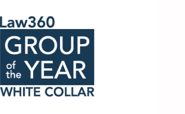 Award firm law360 white collar
